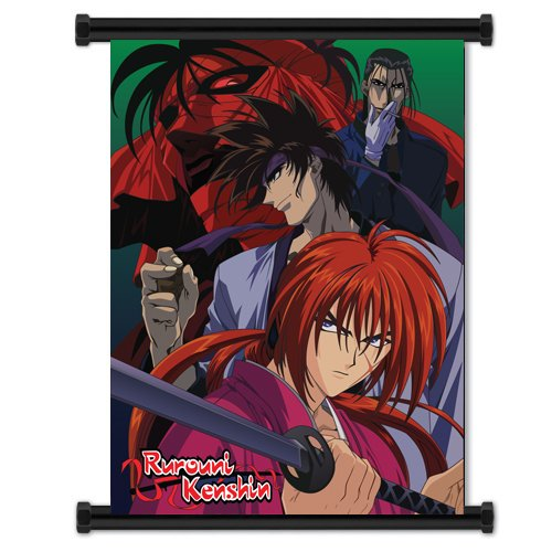 Rurouni Kenshin Anime Fabric Wall Scroll Poster  Inches