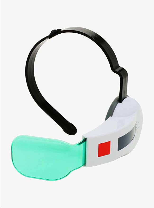 With Sound Dragon Ball Z Blue Scouter Cosplay Accessory