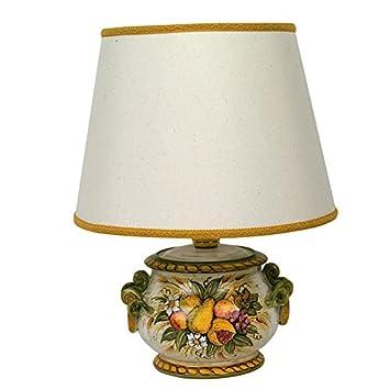 Abat Jour SalonTableStudioChevet Peinte Lampe Avec De N0wkn8OXP