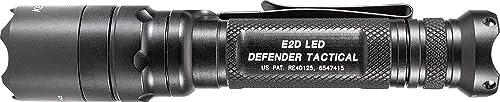 SureFire E2D Defender Ultra Single-Output LED Flashlight, Black E2DLU-T