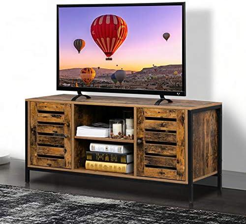 Bonnlo Vintage Media Console TV Stand