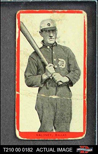 Amazoncom 1910 T210 3 Old Mill Texas League Maloney Baseball Card