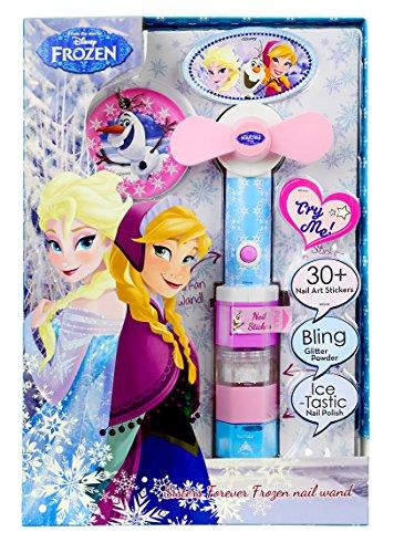 Markwins Disney Frozen / Die Eiskönigin / Geschenk-Set - Nagel-Ventilator und Nagellack - für Kinder, 1 Stück