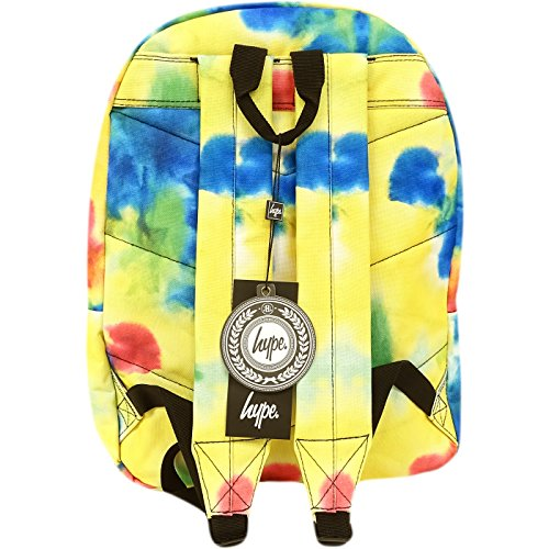 Hype Tie Dye, Borsa a spalla uomo giallo Tie Dye Taglia unica
