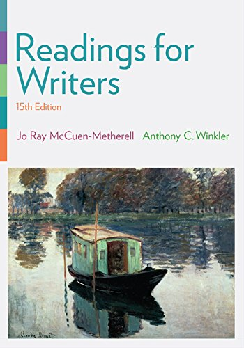 Readings for Writers (with 2016 MLA Update Card)