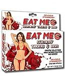 Eat Me Gummy Thong & Bra Strawberry