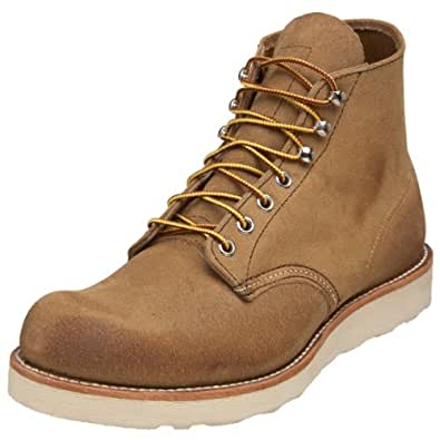 """Red Wing Men's 8181 6"""" Classic Round Boot,Hawthorne Muleskinner,8 D(M) US"""