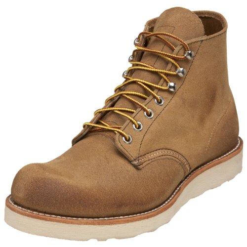Red Wing Shoes - Zapatos de cordones de cuero para hombre Brown
