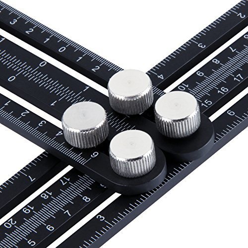 Metal Multi Angle Measuring Ruler! Good buy!