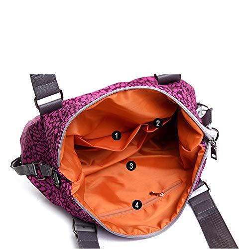 nylon da tracolla donna impermeabile tracolla a pelle tracolla borsa a con a di in in Borsa stampa tracolla 8xqRzC7