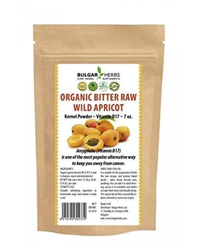 Bitter Herbs - Raw Organic Bitter Apricot Kernel Powder - 7 Oz.