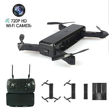 LJXWXN Drone para WiFi Cámara FPV 720P HD, Control De Voz, Pista ...