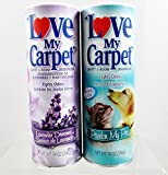 Love My Carpet Carpet & Room Deodorizer - 2 Pack - Lavender Dreams & Pardon My Pet