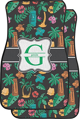 Hawaiian Masks Car Floor Mats (Front Seat) (Personalized) (Nature Car Floor Mats compare prices)
