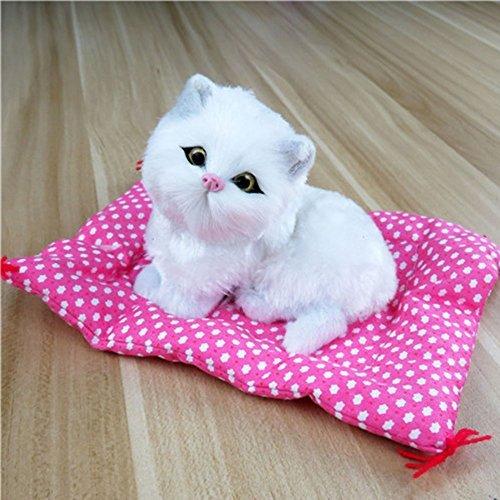 White Cat Soft Toy - 5