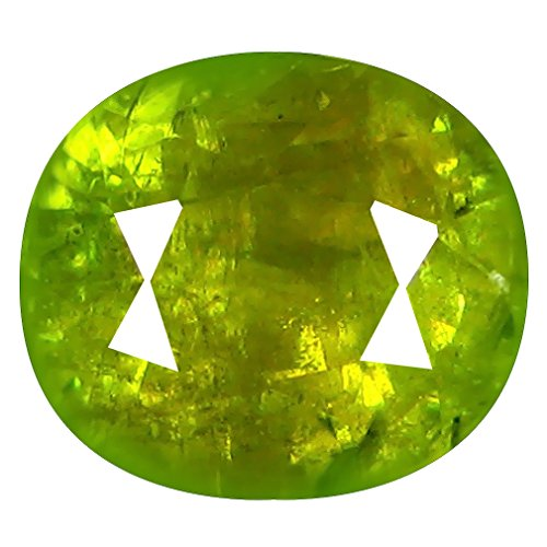 Deluxe Gems 2.79 ct Oval (8 x 7 mm) Pakistan Un-Heated Pakistan Sphene Natural Loose ()