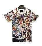 バスケ Tシャツ NBA 選手 イラスト 半袖 大型 サイズ [並行輸入品]