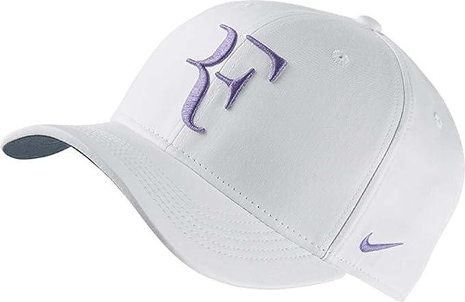 Masculinidad Devastar Ponte de pie en su lugar  Amazon.com: Nike Roger Federer Tennis Cap: Clothing