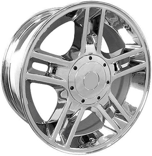 20x9 Wheel Fits Ford Trucks & SUV's - F-150 Harley Style Chrome Rim, Hollander 3410
