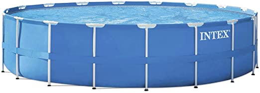 Intex Metal Frame Set - Piscina Desmontable Tubular, 549 x 122 cm ...