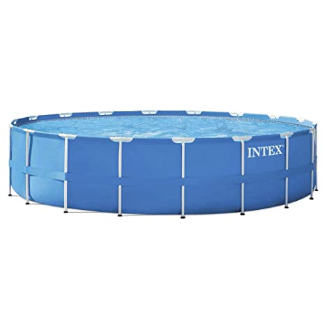 Intex Metal Frame Set - Piscina Desmontable Tubular, 549 x 122 cm, con depuradora