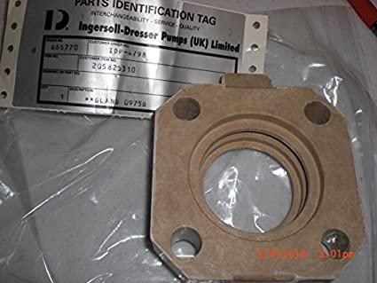 INGERSOLL-DRESSER PUMPS 60641107 Gland: Amazon com: Industrial