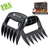 Ofargo Bear Claws Meat Shredder, Solid Meat Claws with FDA-Approved for BBQ Grill Meat Shredder, 2 Pack, Black