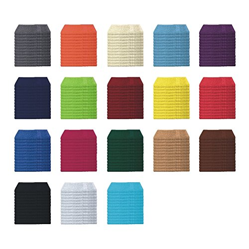 Handtücher   Duschtücher Set - 6x Handtuch + 2x Duschtuch - 100% Baumwolle - Farbe Türkis B01KY6KIII Sets