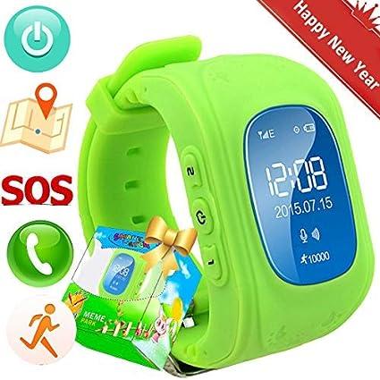 Reloj para Niños,TURNMEON Kids Smartwatch GPS Tracker con Localizador para Niños Niñas SIM Anti-perdida SOS Compatible con Android/iOS Smartphone ...