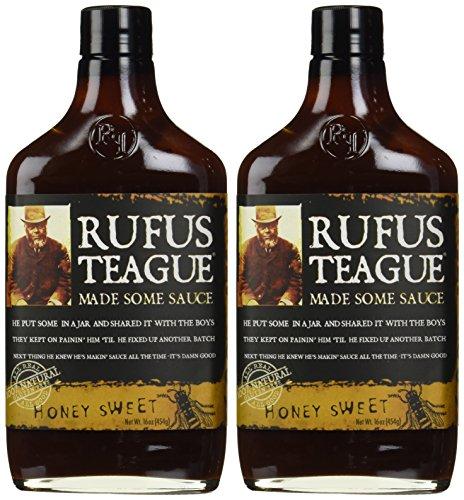 Rufus Teague's Award Winning BBQ Sauces - OU Kosher - Honey