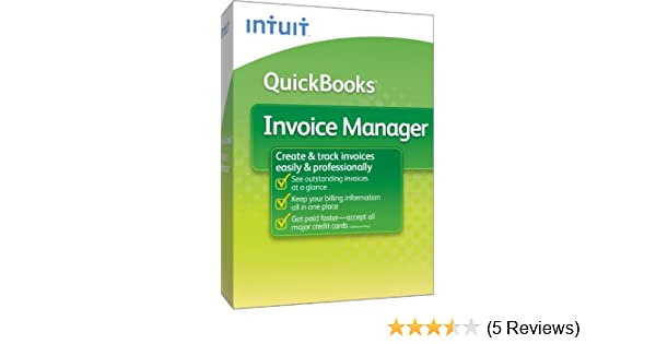 Amazoncom QuickBooks Invoice Manager - Quickbooks invoice manager