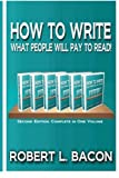 img - for How to Write What People Will Pay to Read! book / textbook / text book
