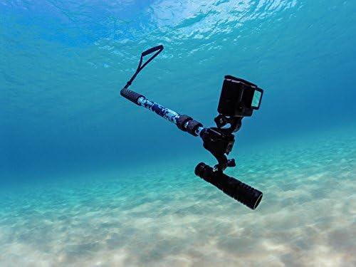 GoScope HALO 1000 Lumen LED Rechargeable Underwater Flashlight 150m
