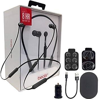 53f9b21c340 Beats by Dr. BeatsX Wireless In-Ear Headphones - Black - With Fast Key 2.4  Car Adapter & Ear Gel,Lighting USB Kit (Renewed)