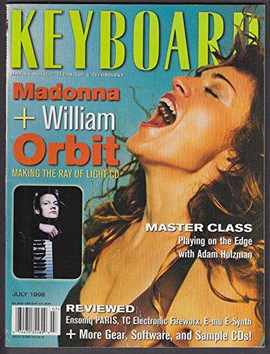 KEYBOARD Madonna William Orbit Adam Holzman Wallflowers Dub Pistols ++ 7 1998