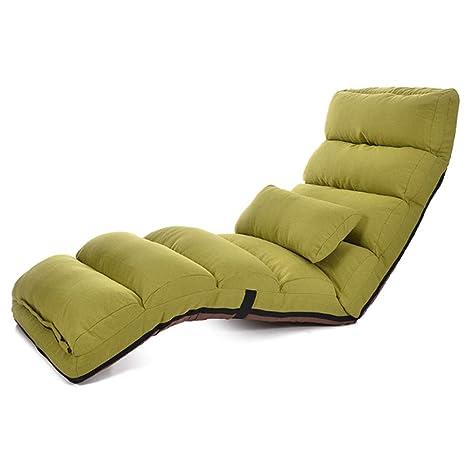 L-SYJH Lazy Sofa Single Tatami Silla Plegable Cama en el ...