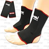 Farabi Sports Eva Gel Padded ankle Supports Pullover Black/Red (S/M)