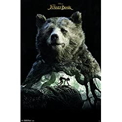 "Trends International Wall Poster the Jungle Book-Baloo, 22.375"" x 34"""