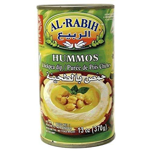 Premium Al-Rabih Hummus libanés 370g