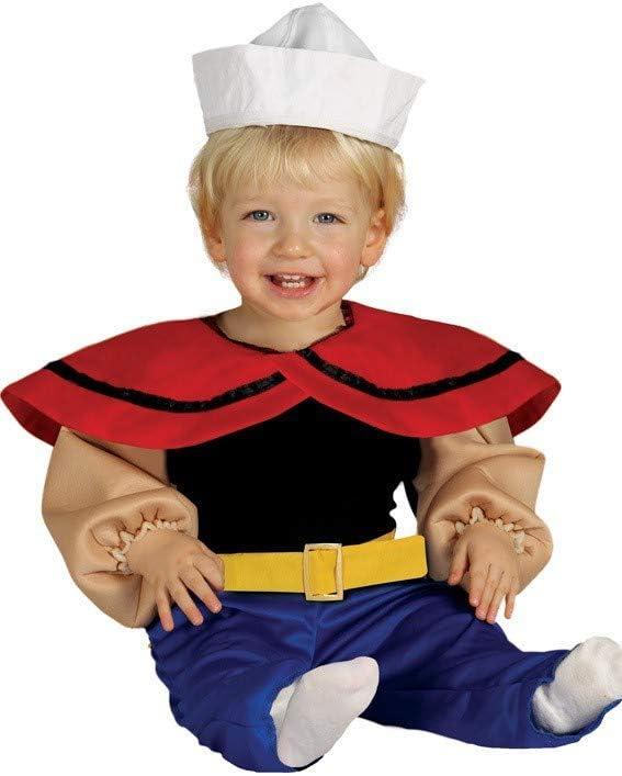 Guirca Disfraz de Marinero Popeye para bebé: Amazon.es: Juguetes y ...