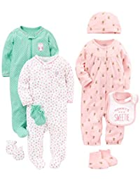Simple Joys by Carter's Girls' 8-Piece Footed Take Me Home Set
