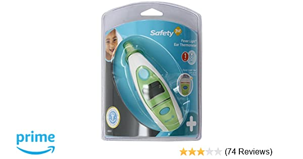 Amazon Safety 1st Fever Light 1 Second Ear Thermometer Baby