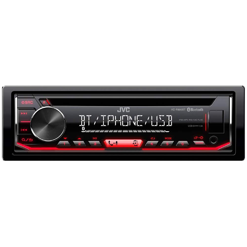 AUX IN Autoradio CD JVC kd-r899bt Bluetooth USB