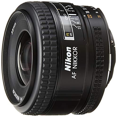 Nikon AF NIKKOR 1923 35mm f/2D Lens with Auto Focus for Nikon DSLR Cameras,Black