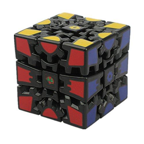 QTMY Plastic Irregular Gear Speed Magic Cube Puzzle