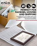 enKo 12 x 12 Inch (50-Pack) Foam Wrap Cushion Wrap