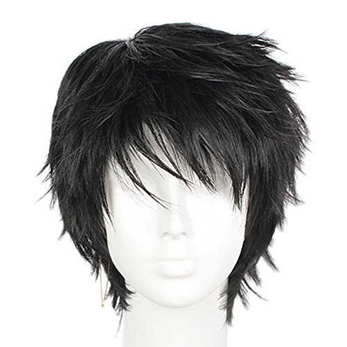 Womens Wig Cosplay Game Short stylish Hair Costume Accessories Halloween Honor