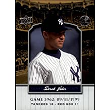 2008 Upper Deck Yankee Stadium Legacy Collection #5962 Derek Jeter Baseball Card