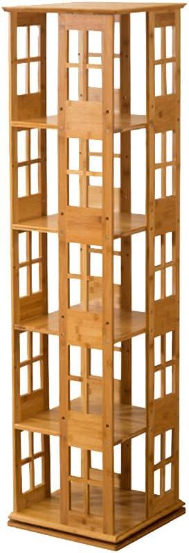 Biblioteca Sexy Estantería de 5 Niveles Estantería de bambú ...