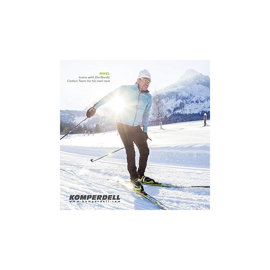 Komperdell 520230610 Nordic Carbon Team, Black, 180cm